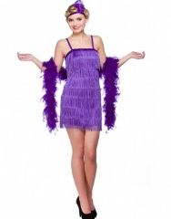 Showtime Flapper Girl - Purple (EF2152)